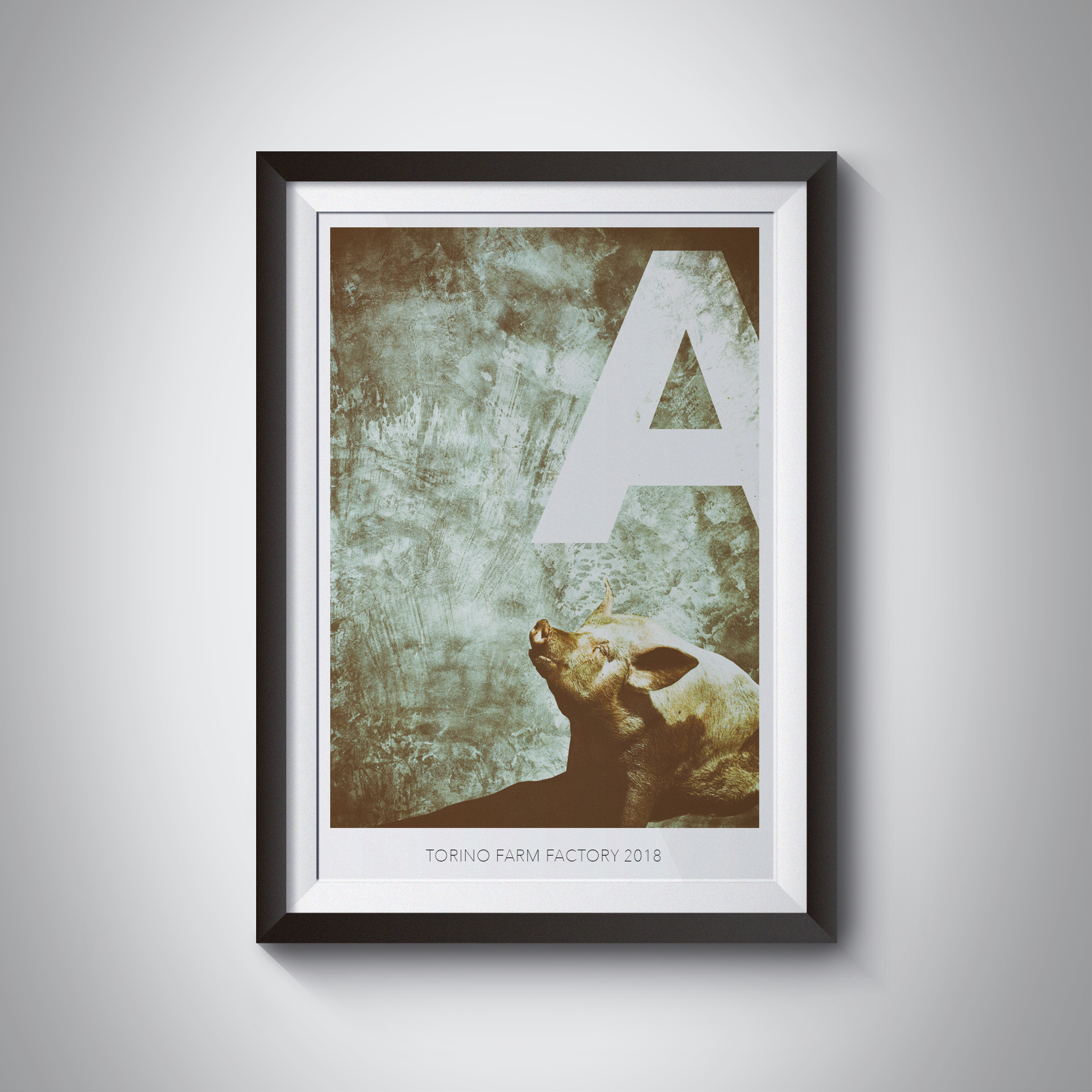 La serie grafica: Alphabet, A from artist